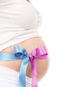 girl-baby-belly-blue-41271