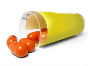 medical-capsules-in-glass